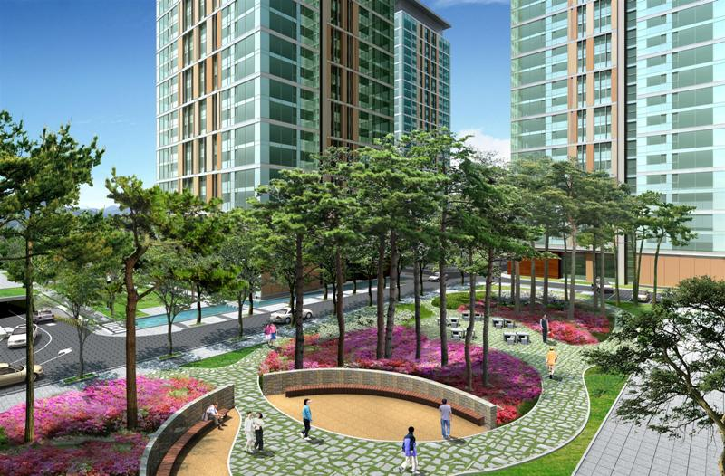 These Designs Successfully Integrate The Architecture And Landscape Into A  Stimulating Outdoor Environment For The Enjoyment Of The Residents.